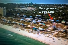 Aerial View of Seagrass Cottage